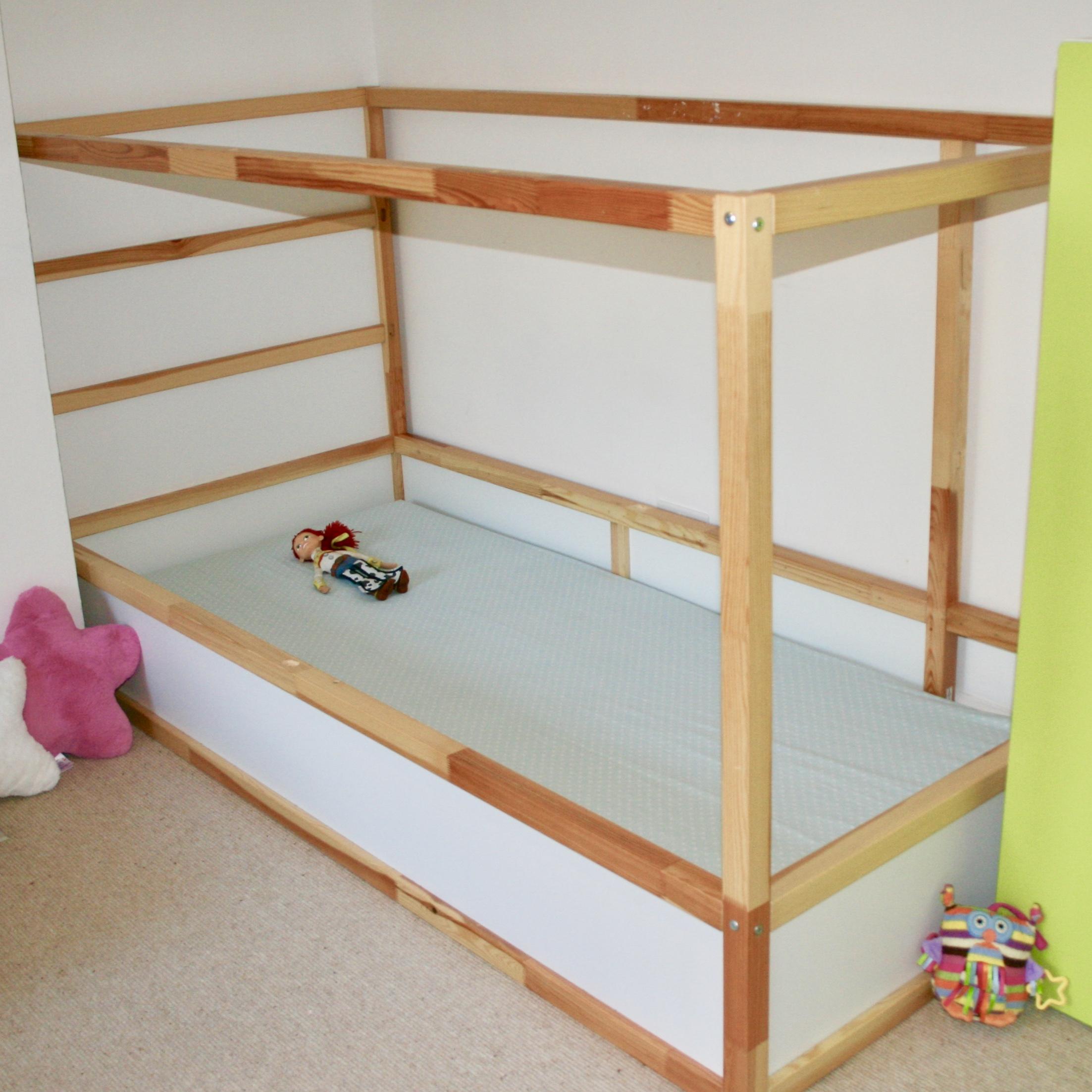 Photo of J's Ikea Kura bed with lowered mattress